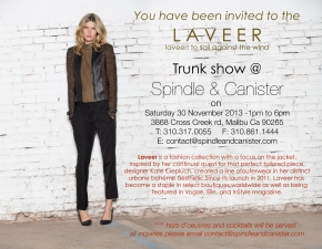 LAVEERFALL-TRUNKSHOW new